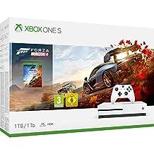Xbox One S 1TB 地平线 4 Forza Horizon 4 同捆装 游戏机