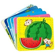 邦臣小红花·动手动脑玩拼图(2-3岁)(套装共6册)