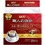 UCC 悠诗诗 滴滤式职人咖啡粉(醇香摩卡)7g×18p(日本进口)