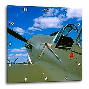 DPP 97137可 danita delimont–WAR 飞机总动员–curtiss P-40warhawk ,战争飞机–us50bfr0060–BERNARD friel–壁挂钟