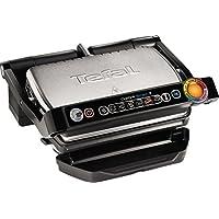 Tefal GC702D 全套烤架,2000 W,一致性(自动显示,预置烤架,不锈钢/黑色/银色