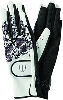MU SPORTS(MU SPORTS) 高尔夫球手套 2016AW系列 女士 手套 703U6806 白色 女士 703U6806 L(21~22cm) 聚酯纤维/合成皮革