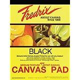 Tara Materials Fredrix TAR-35011 12 x 16 黑色帆布垫(10 个装)