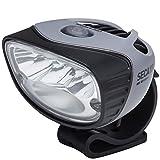 Light & Motion Seca 1800 灯头,灰色