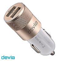 Joy Dual USB Port 车载充电器 bldv - 058 金