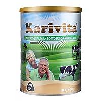 新西兰进口脱脂中老年奶粉 无蔗糖低脂高钙中老年配方奶粉900g(添加鱼油 营养更高)18年新鲜日期