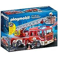 Playmobil 摩比世界 9463 玩具 消防员 带折叠云梯消防车