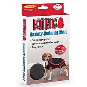 KONG 减轻*宠物 T 恤,黑色 黑色 中