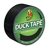 Duck Brand 1265016 彩色强力胶带,霓虹粉,1.88 英寸 × 15 码,单卷