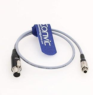 Eonvic TA3F 迷你 3 针 XLR 至 FVB 00 3 针音频输出电缆适用于 Zaxcom TRX900 Sennheiser SK2000