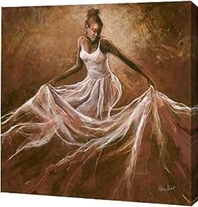 "PrintArt ""Ethereal Grace"" Monica Stewart 画廊装裱艺术微喷油画艺术印刷品 30"" x 30"" GW-POD-33-S884D-30x30"