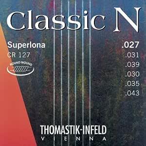 Thomastik-Infeld CC124 Classical Guitar Strings, High Density Symthetic Fiber Set, CC124, Classic C