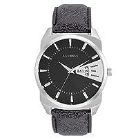 Laurels Analog Black Dial Men's Watch - Lo-Inc-202