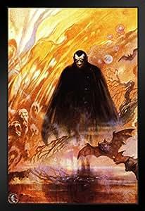 Dracula Frank Frazetta 艺术印刷海报 30.48x45.72 厘米 裱框海报 14x20 inches 304293