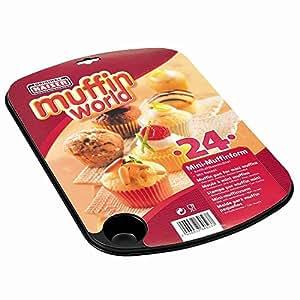 WMF旗下品牌德国凯撒 Kaiser 24连迷你松饼烤盘 2300646237(亚马逊进口直采,德国品牌)