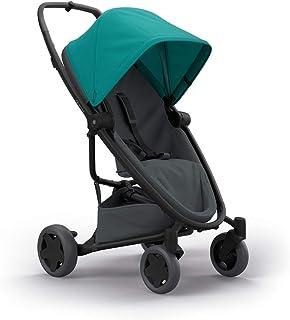 Quinny Zapp Flex Plus 婴儿车,时尚婴儿车,舒适灵活,轻便且非常紧凑,可折叠,适合出生时使用(例如带 Lux 婴儿床),不同款 颜色 green on graphite