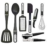 KitchenAid 7 件必备工具和小工具套装,黑色