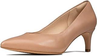 Clarks 女士 Laina55 Court 密头高跟鞋