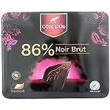 Cote D'or克特多金象真味86%可可黑巧克力礼盒装(100g*4)400g(比利时进口)