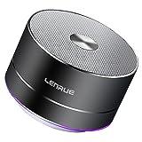 LENRUE 便携无线蓝牙音箱内置麦克风、免提通话、AUX 线路、TF 卡适用于 iPhone iPad Android 智能手机等等…A2