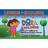 Signs 4 Fun Ndeid Dora 的司机许可证
