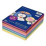 Pacon 轻质结构纸,10 种颜色,9 英寸 x 12 英寸,500 张(4 只装)