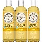 Burt's Bees小蜜蜂天然宝宝洗发沐浴二合一 350ml*3瓶装 Prime会员凑单到手约¥168.34