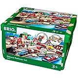 瑞典 BRIO 火车系列 声光豪华级轨道套装 BROC33052
