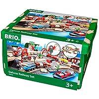 瑞典 BRIO 火車系列 聲光豪華級軌道套裝 BROC33052