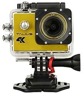 TALIUS sportcam-cámara Digital 8 MP (4 K, Wi-Fi, HDMI, 2 LCD 屏幕, CMOS) 颜色, 黄色