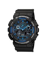 CASIO 卡西欧 G-SHOCK系列电子男士手表 GA-100-1A2