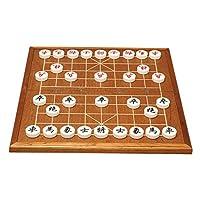 御圣-中国象棋套装-亚克力塑料象棋套装-折叠木质棋盘