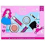 Klee 儿童天然矿物化妆品4件套,粉末粉末粉饼