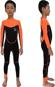 Realon Wetsuit 儿童短裤 3 毫米男孩游泳冲浪潜水套装 青少年