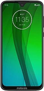 """摩托羅拉 Moto G7 (64GB, 4GB RAM) 6.2"""" HD+ 顯示屏,雙 SIM GSM 解鎖 (at&T/T-Mobile/MetroPCS/Cricket/H2O) - XT1962-6 - 國際版 64 GB 黑色"""