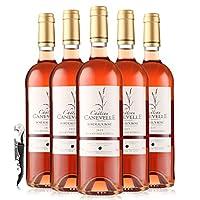 法国波尔多产区AOC 桃红葡萄酒 750ml*6