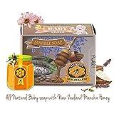 Memoir *婴儿肥皂 - 新西兰麦卢卡蜂蜜,薰衣草精油,益生菌,非常适合香肠病,*,瘙痒,干和敏感性皮肤 - 沐浴露 - 113.40 克