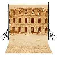 LYCTY 摄影背景城市风景系列摄影背景摄影道具 5X7 FT Ancient Architecture
