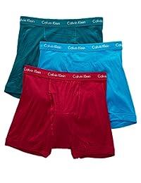 Calvin Klein Men's Three-Pack Cotton Classic Boxer Brief