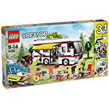 LEGO 乐高 Creator创意百变系列 度假露营车 31052 9-14岁 积木玩具