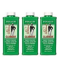 pinaud CLUBMAN powder 4盎司(3瓶裝)