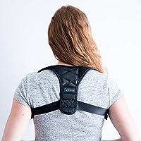 您的身体击球背部支撑姿势矫正器,矫正不适姿势——帮助改善坏脊排对齐 - 可调节 - 舒适 - 透气 - *骨