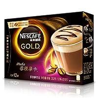 雀巢 咖啡(Nescafe)睿雅摩卡咖啡21g*12
