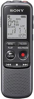 SONY索尼专业数码录音笔高清超远距录音ICD-PX2404G 黑色 智能降噪可监听 支持音频