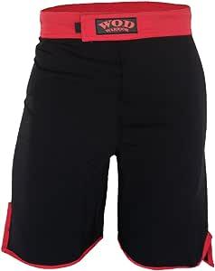 WOD 短裤 - WOD Warrior 1.0 黑色/红色 40