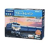 TOMIX N轨距 基本套装SD 蓝色列车 90179 铁道模型入门套装