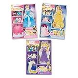 Melissa & Doug 长发公主装扮玩具套装 36 months to 60 months Disney Princess Magnetic Dress Up Bundle