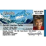 Signs 4 Fun Nspid Sarah Palin's Driver's 许可证