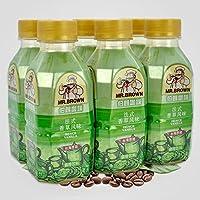 台湾伯朗咖啡 法式香草风味咖啡饮料 三合一即饮品 330ml*6瓶装