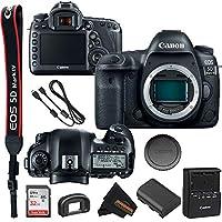 Canon EOS 5D Mark IV DSLR 相机(仅机身)+ 32GB SD + Sunshine Basic Bundle